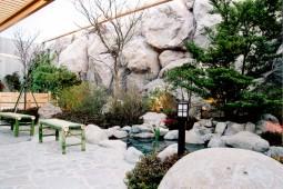 露天風呂 FRP修景 擬岩