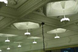 歴史的建造物、天井 型取り復元工事